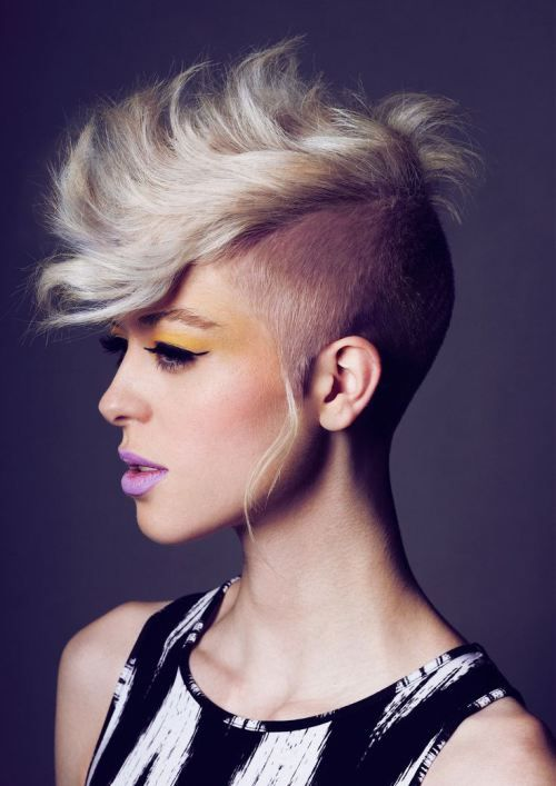 womens mohawk haircuts 1000 ideas about mohawk hairstyles for on 5218