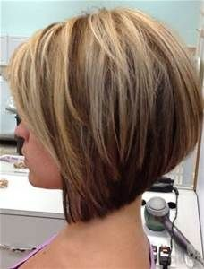 Graduated Bob Haircuts for Fine Hair Round Face - Bing images