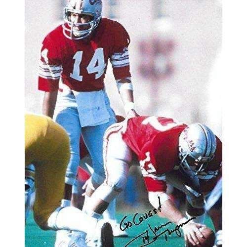Jack Thompson, Washington State Cougars, Signed, Autographed, 8X10 Photo, a COA with the Proof Photo of Jack Signing Will Be Included.