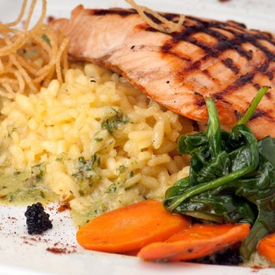 Olive Garden's Herb Grilled Salmon