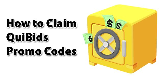 How To Redeem A Quibids Promo Code For Free Bids Free Bid Coding Promo Codes