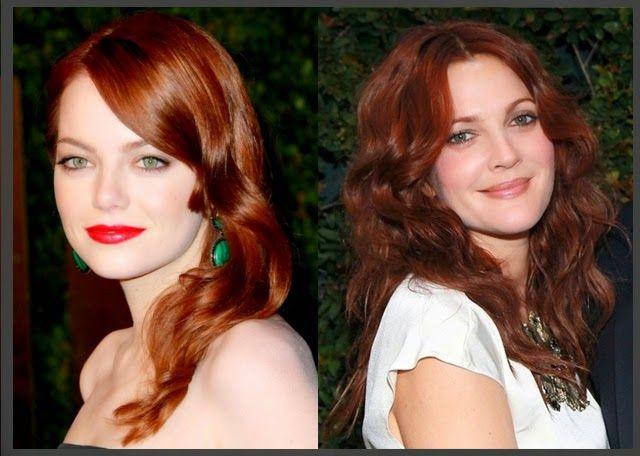 Όλες οι αποχρώσεις στα Κόκκινα Μαλλιά!   Woman Oclock