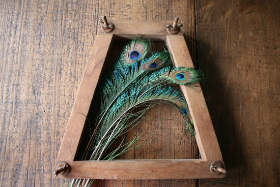 Tennis Racquet Racket Frame Press Wooden Decor by FoundByHer