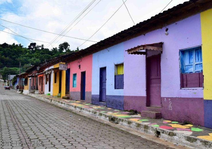 Lindo pasear con todo el estilo del mundo, en los pueblos vivos de nuestro país ♥ Taco streets El Salvador