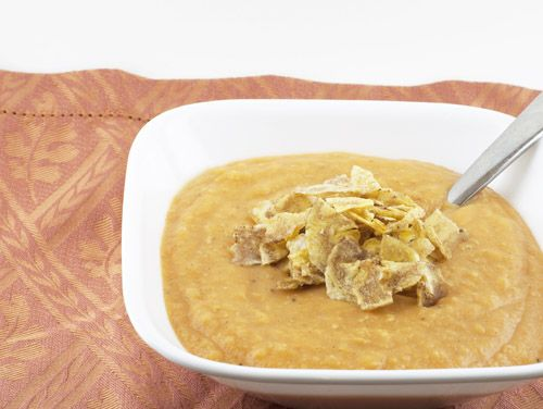 Caribbean Sweet Potato and Plantain Soup