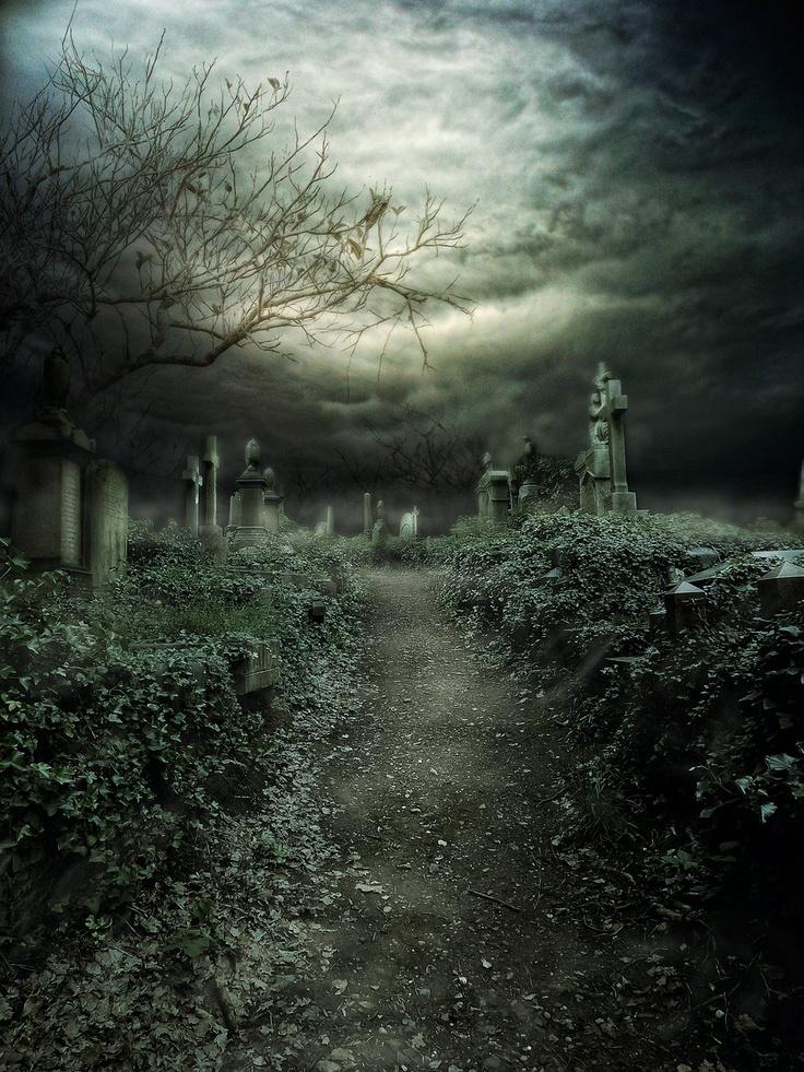 Мрачные таинственные картинки