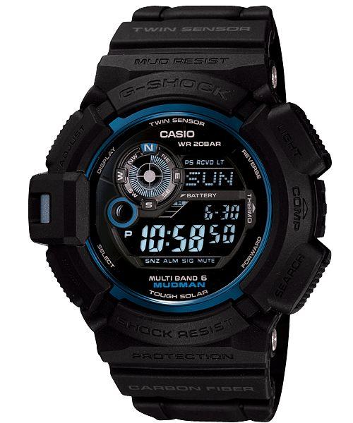 GW-9330B-1JR Initial Blue Mudman