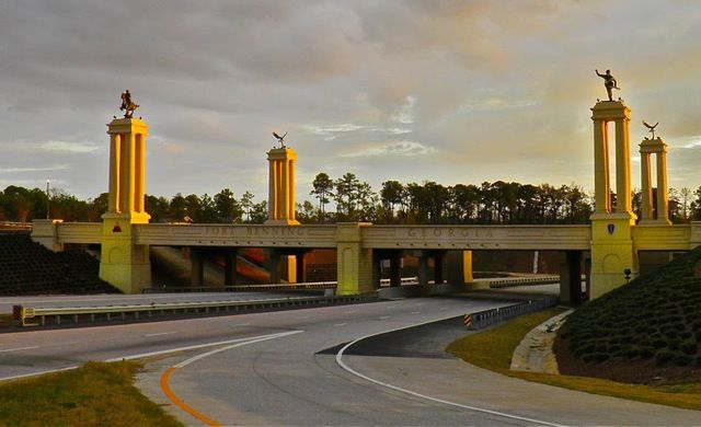 Fort Benning GA. This place will forever hold a piece of my heart. <3