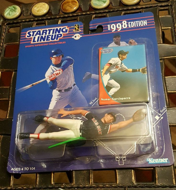 NOMAR GARCIAPARRA 1998 STARTING LINEUP UNOPENED Action Figure Card MLB Red Sox #Kenner