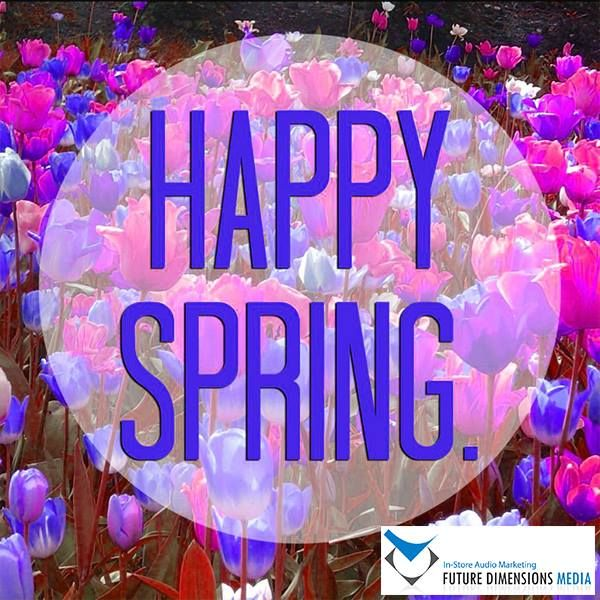 "Happy Spring Day! ""Spring is nature's way of saying lets party."""