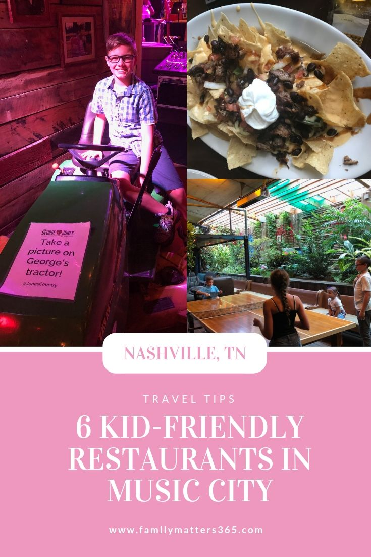 Tonks Are A Main Attraction In Nashville But Not Always Kid Friendly However We Found Some Great Restaurants That Did Leaving