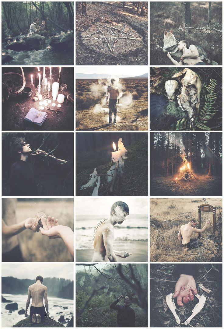 Wandering Male Witch aesthetic requested by anon