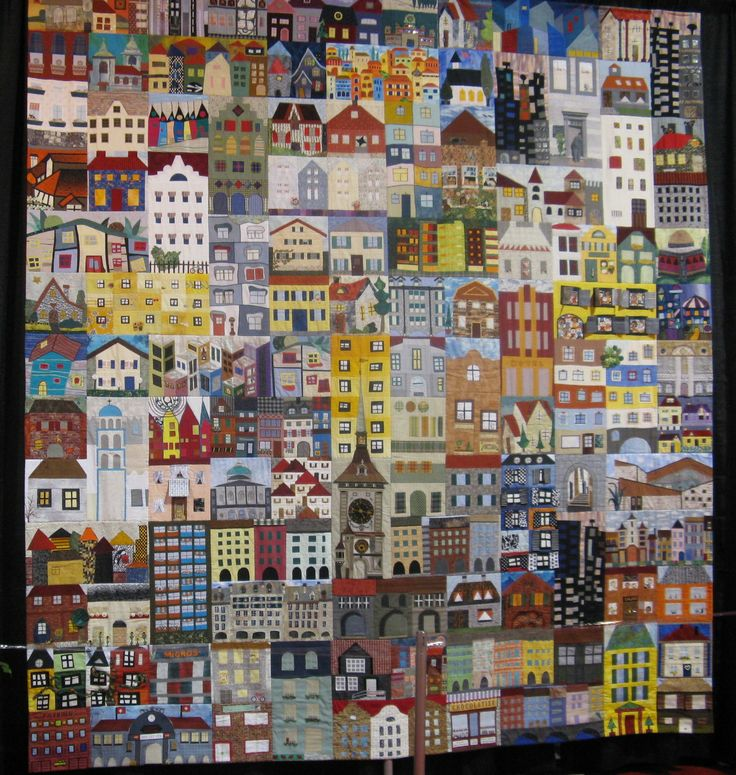 beach house quilt | One hundred fifty six different blocks