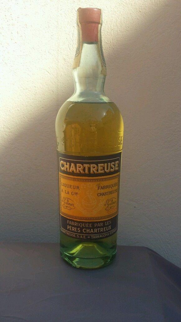 #Chartreuse Jaune de Tarragone années 1960's | La Seisenta