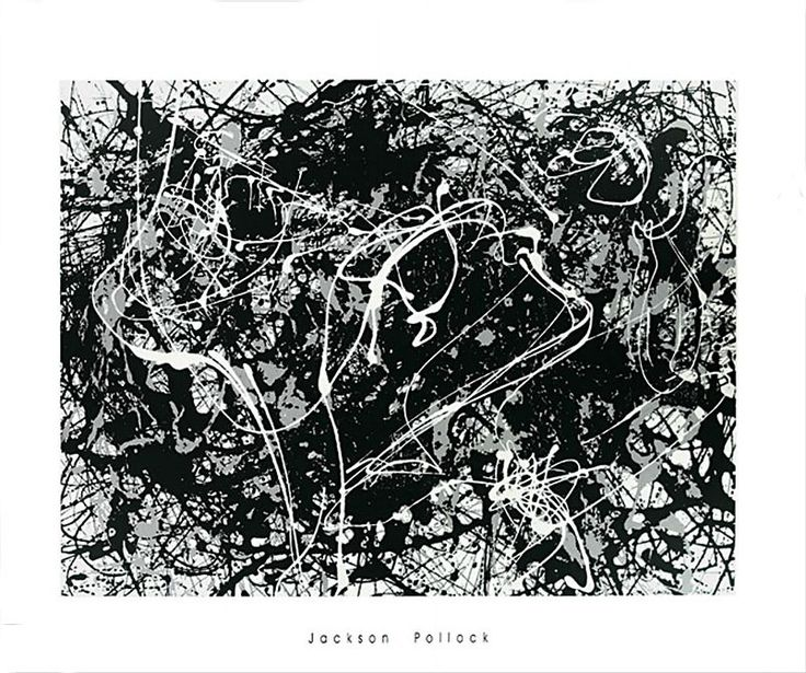 203 best images about j pollock on pinterest new york for Jackson pollock coloring page