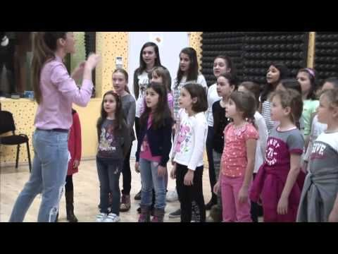 Watch full live - A day at the studio with one of the best Romanian singers Andra and Bravissimo Choir.