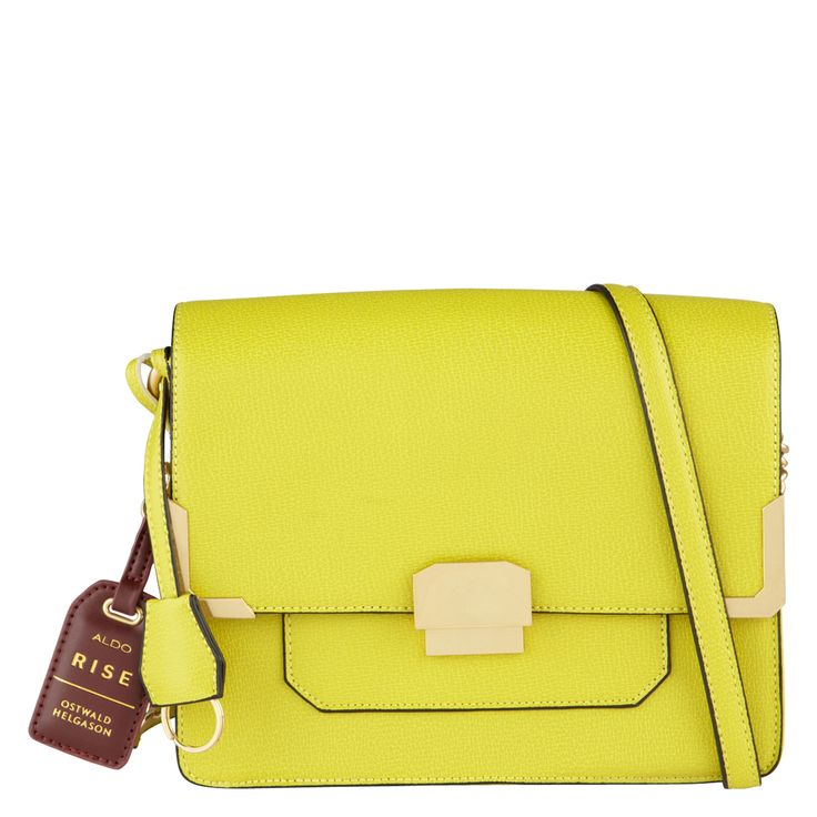 Ostwald Helgason x Aldo Osley Yellow Crossbody Bag - Shop the new collaboration we can't stop talking about