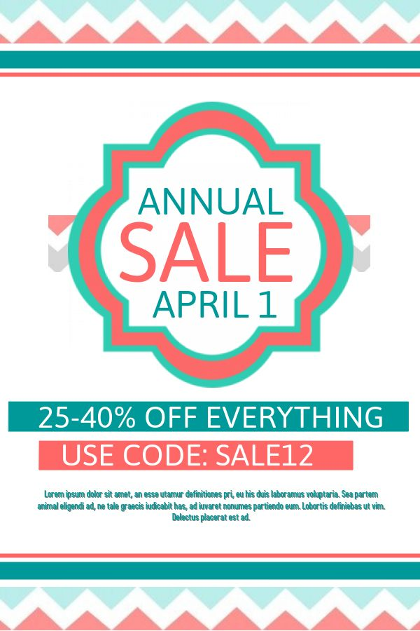 Best Retail Flyer Templates Images On   Flyer