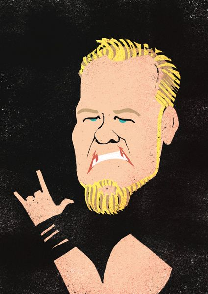 James Hetfield, cantante de Metallica