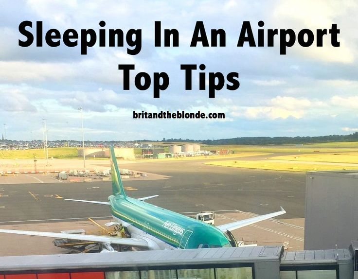 Sometimes as a budget traveller you have to do the things that aren't necessarily what you want to do, such as sleeping in an airport. Learn everything you need to know about sleeping in an airport at britandtheblonde.com