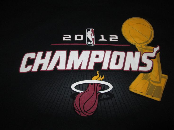 "2012 NBA CHAMPS""MIAMI HEAT""...T SHIRT...ADULT LARGE..BY EXCLUSIVE COLLECTIONS. #EXCLUSIVECOLLECTION #MiamiHeat"