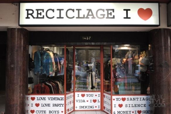 Reciclage I love providencia