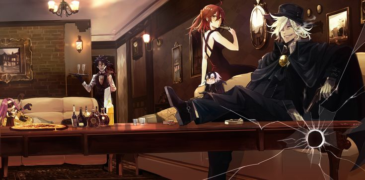 Fujimaru Ritsuka / Gudako / Rider / Avenger / Alter Jeanne D'arc / Edmond Dantés【Fate/Grand Order】