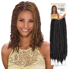 Synthetic Hair Braids Modelmodel Glance Chunky Twist Braid
