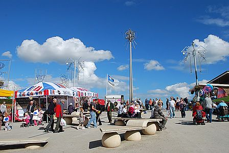 Mablethorpe, my childhood holiday destination... seems so small these days..... :-(