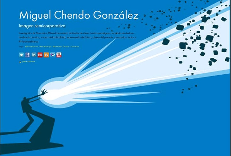 Miguel Chendo  González's page on about.me – http://about.me/MiguelChendo