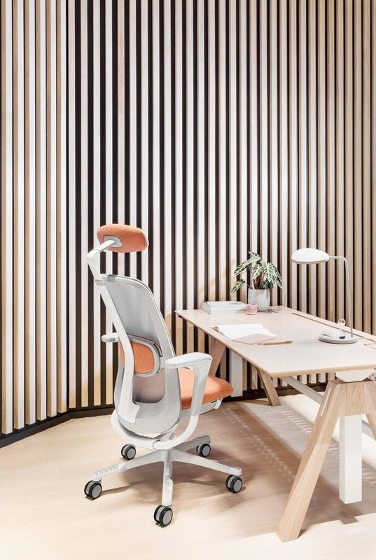 """""""We wanted to make a truly user-friendly and uncomplicated chair that inspires new ways of working and collaborating, a chair that suits most people and fits in anywhere."""" #InspireGreatWork #design #office #chair #ergonomics #Scandinavian"""