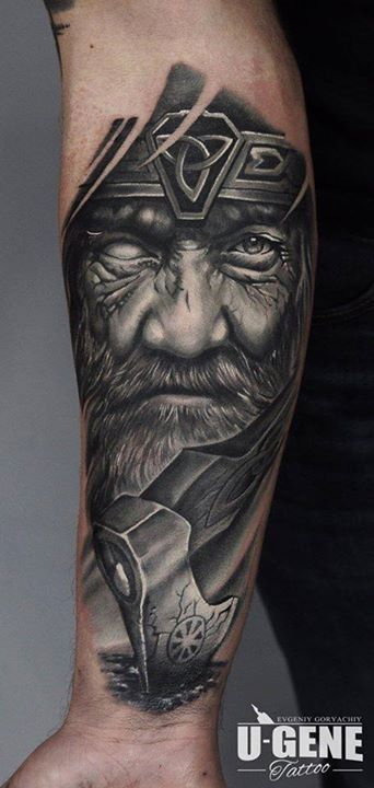 It's not Slavic, it's Nordic, but I want this. <3 Tattoo by U-Gene.