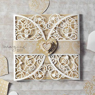 1095 best Laser Cut Style Wedding Invitation images on Pinterest - fresh invitation card to chief guest