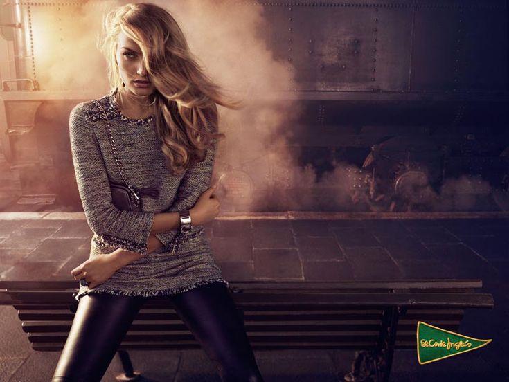 Anna Jagodzinska Stars in El Corte Ingles Fall 2012 Campaign by Hunter & Gatti