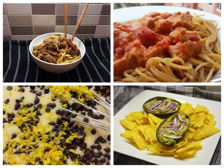 4 recepty: Čína - Milánské těstoviny - Guacamole - Hrníčková bábovka - Life by Kristy