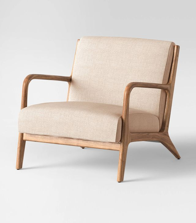 This picture is the Project 62 Esters Wood Arm Chair from Target!