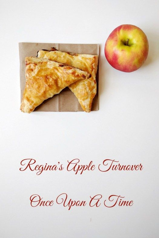 Regina's Apple Turnover - A Once Upon A Time Recipe