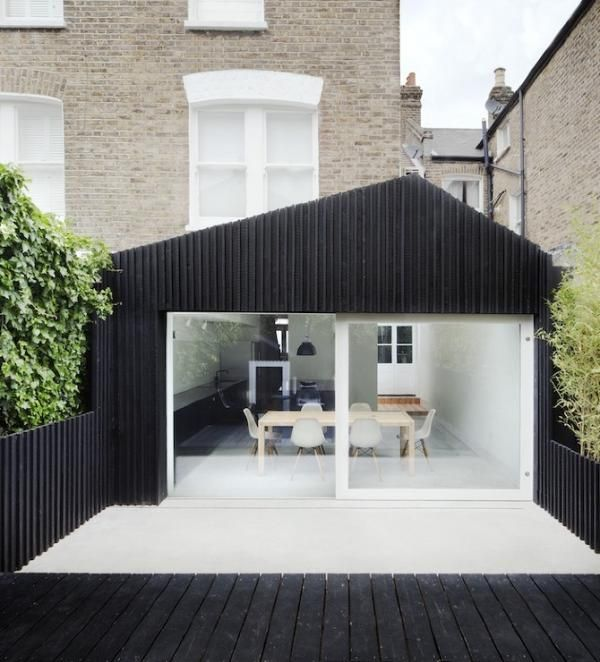 Woonkeuken in aanbouw Victoriaans huis | Gimmii Magazine