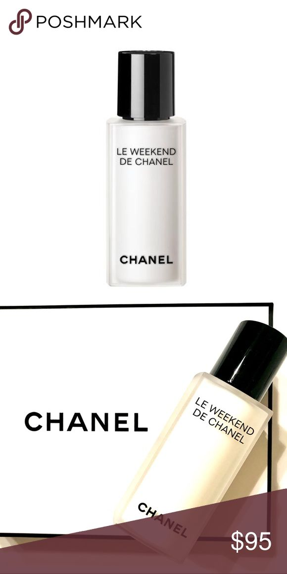 Chanel Le Weekend- New without box Chanel Le Weekend- New without box - tester - Give skin a much-needed break with LE WEEKEND DE CHANEL, which enhances renewal and replenishes hydration, leaving the complexion softer and more luminous. The third product of the LE JOUR, LA NUIT and LE WEEKEND DE CHANEL ritual that restores skin's optimal rhythms. Unisex men and women skincare CHANEL Makeup