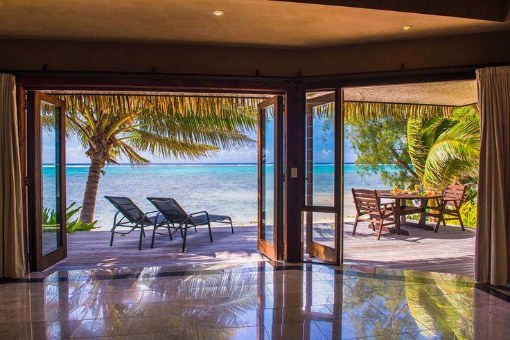 Luxury accommodation in Rarotonga. Rumours Luxury Villas and Spa in Muri lagoon. #wanderlust