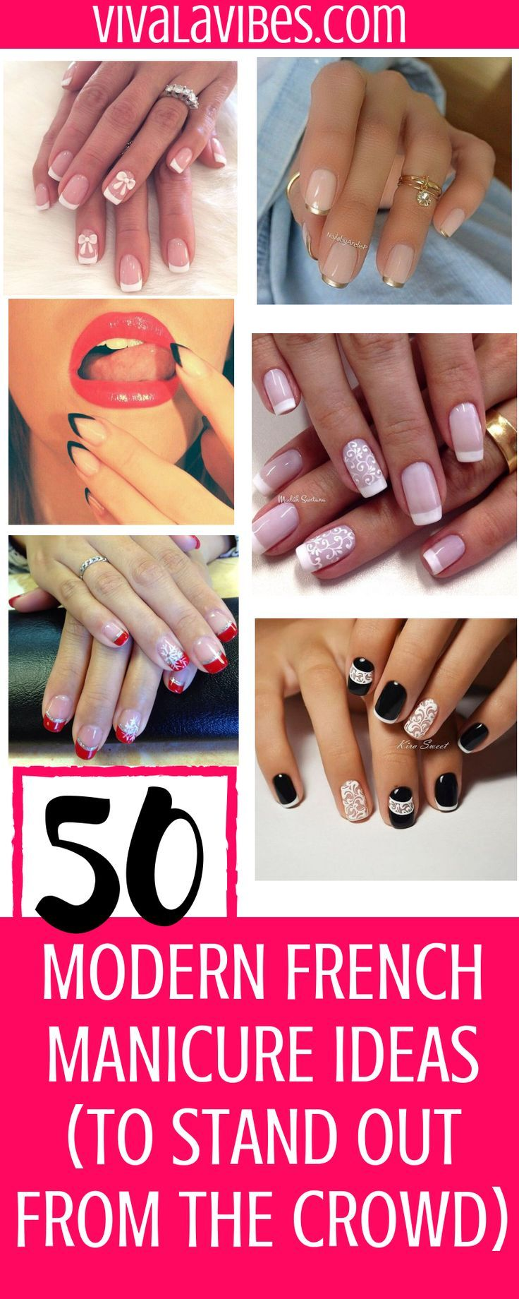 Modern French Manicure DesignIdeas To Stand Out from The Crowd