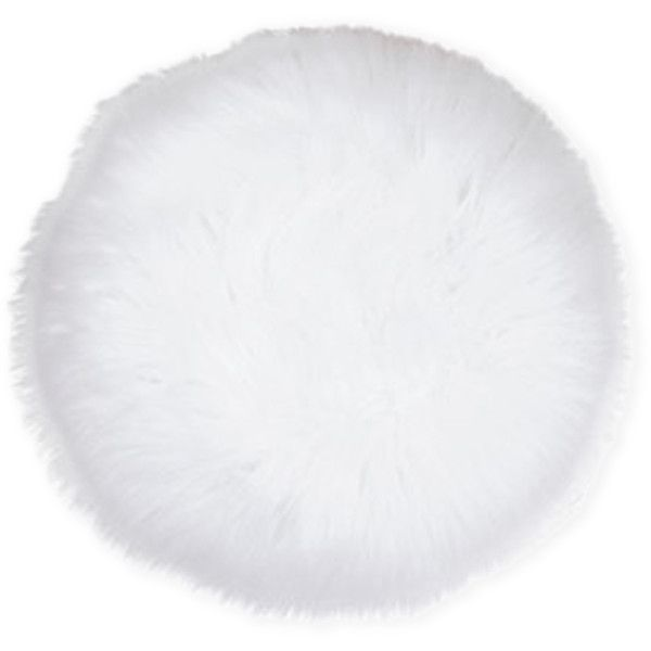 """Thro 16"""" Round Faux Fur Pillow ($15) ❤ liked on Polyvore featuring home, home decor, throw pillows, white, round toss pillows, faux fur throw pillow, white home decor, white toss pillows and white throw pillows"""