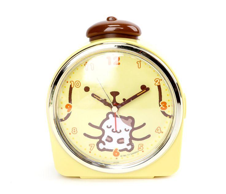 Pompompurin Talking Alarm Clock: Face