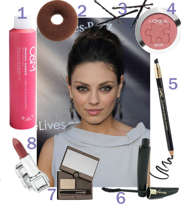 Mila Kunis is hot, hot, hot right now & our friends over at drop dead gorgeous daily have put together a super glam 'How To' starring our gorgeous Vani-T Lip Colour in Enchantress. Go on, bring out your sultry side!
