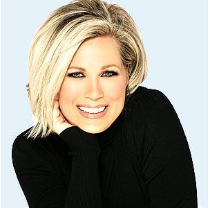 Stacey Schieffelin of ybf cosmetics on HSN (formerly Models Prefer cosmetics on QVC).  I love how she empowers women!!