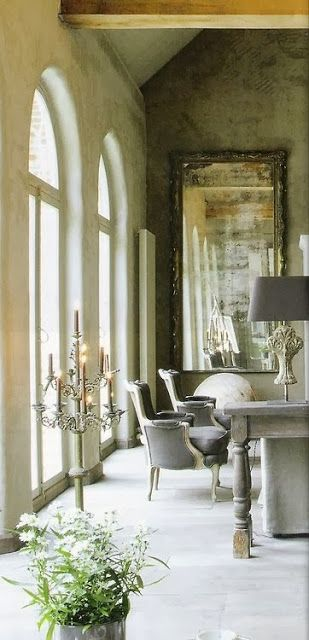 South Shore Decorating Blog: Tuesday Eye Candy (#3)...antique and modern design