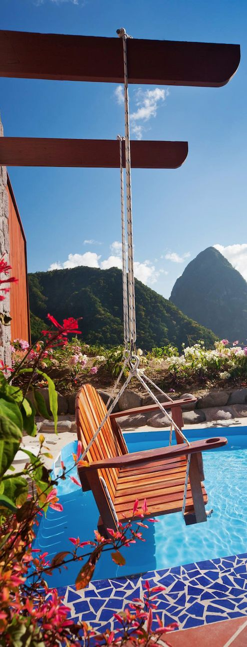 #FlyingwiththeRichandFamous #Fromtheflightattendantwhoflewwiththem Ladera Resort, St. Lucia, Caribbean