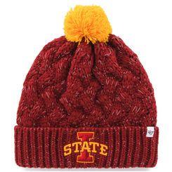 Iowa State Cyclones '47 Brand Women's Fiona Cuff Knit Beanie - Cardinal