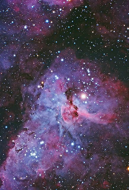 "The Keyhole By lrargerich The heart of the Eta Carina nebula, the star Eta Carina is the bright one just on the right of the ""keyhole""."