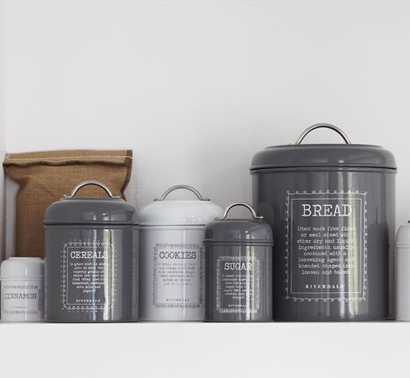 Storage cans by Riverdale